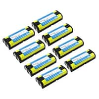 Replacement Panasonic HHR-P105 NiMH Cordless Phone Battery (8 Pack)