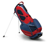 Callaway 1110179 Hyper Lite 3 Golf Stand Bag - Navy, Red & White