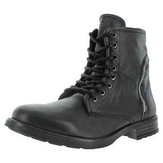GBX Truant Men's Leather Ankle Combat Boots
