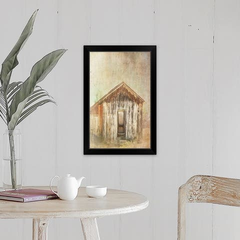 """Bunkhouse"" Black Framed Print"