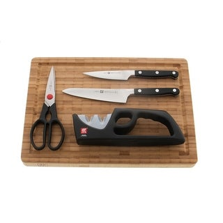 ZWILLING Pro 5-pc Knife & Cutting Board Set