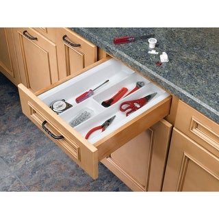 Rev-A-Shelf UT-10-52 UT Series 8-5/8 Inch Wide Trimmable Cutlery Tray Insert
