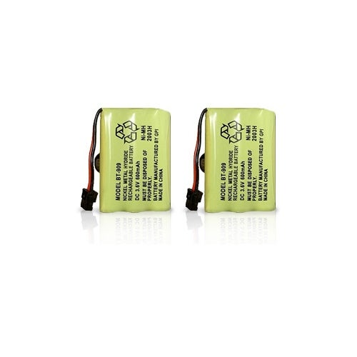 Replacement Battery for Uniden TRU9280 / TRU9385 Phone Models (2 Pack)