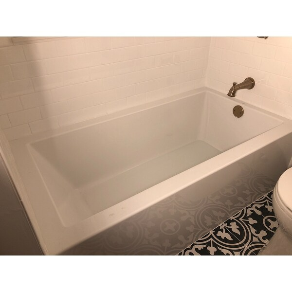 Shop Mirabelle Mirsks6032r Sitka 60 X 32 Acrylic Soaking Bathtub