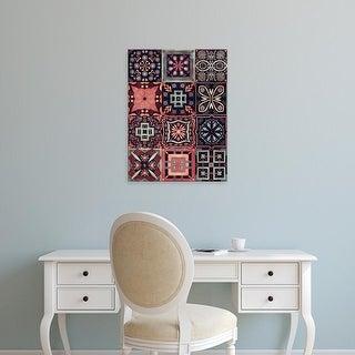 Easy Art Prints Victoria Borges's 'Kaleidoscope Tile IV' Premium Canvas Art