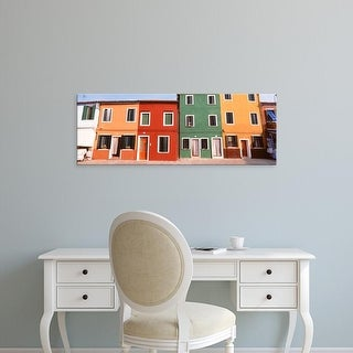 Easy Art Prints Panoramic Images's 'Burano, Venice, Italy' Premium Canvas Art