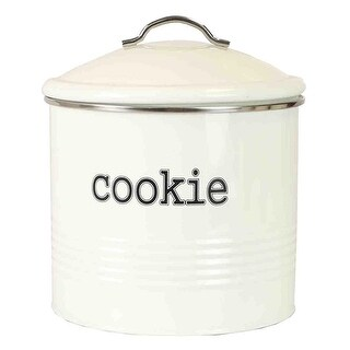 Home Basics Tin Cookie Jar, Ribbed Design, Ivory, 7.6x7.5 Inches|https://ak1.ostkcdn.com/images/products/is/images/direct/9852ef79453532667bab6ce7979eee977f72e37d/Home-Basics-Tin-Cookie-Jar%2C-Ribbed-Design%2C-Ivory%2C-7.6x7.5-Inches.jpg?_ostk_perf_=percv&impolicy=medium