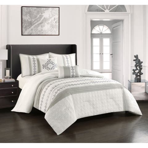 Grand Avenue Mallorca 5-Piece Comforter Set