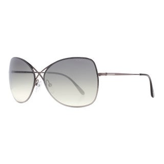 TOM FORD Butterfly TF 250 COLETTE Women's 08C Gunmetal Grey Gradient Sunglasses - 63mm-12mm-135mm