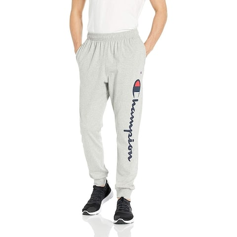 Champion Mens Graphic Jersey Jogger, Adult
