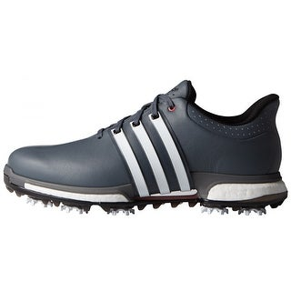 Adidas Men's Tour 360 Boost Onix/White/Shock Red Golf Shoes F33253 / F33265 (Medium Width) (More options available)