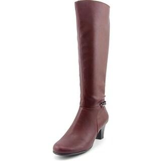 Aerosoles Margarita W Round Toe Synthetic Knee High Boot