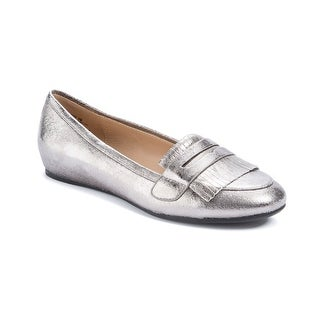 Andrew Geller Posy Women's Flats & Oxfords Old Silver