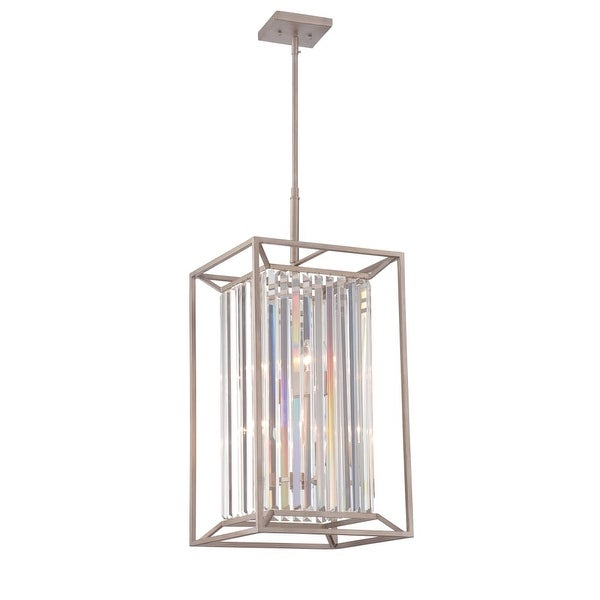 "Designers Fountain 87454 Linares 14"" Width 4-Light Full Sized Foyer Pendant - n/a"