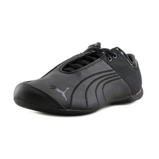 Puma Future Cat Men Round Toe Synthetic Black Sneakers