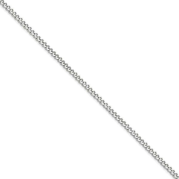 Chisel Stainless Steel 3.0mm 22 Inch Curb Chain (3 mm) - 22 in