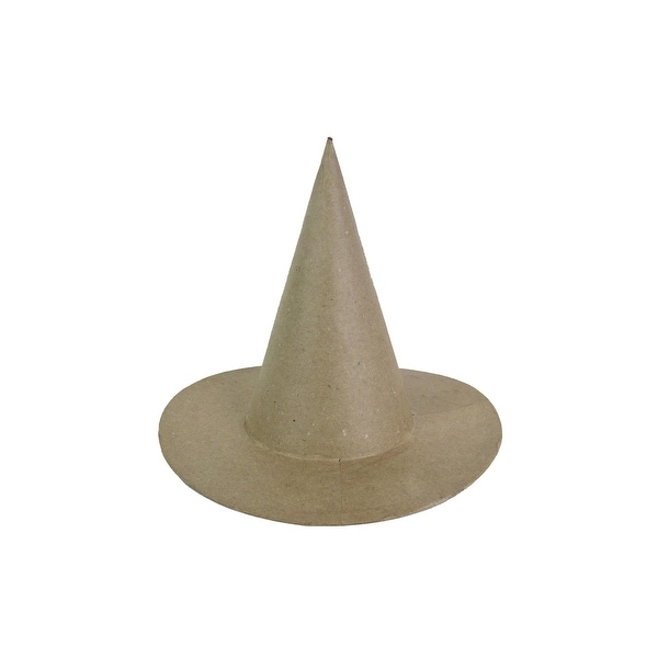 PA Paper Mache Witch Hat Medium 8""