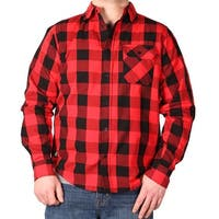 Winchester Men's Bradley Workman Buffalo Plaid Cotton Shirt