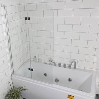Shower doors for less for Discount frameless shower doors