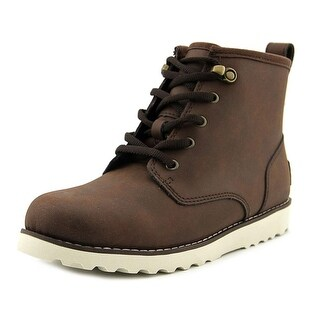Ugg Australia Maple Youth Round Toe Leather Brown Winter Boot