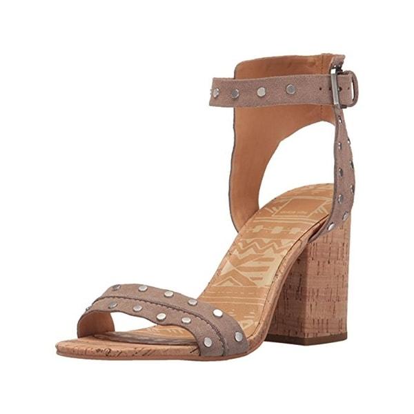 Dolce Vita Womens Essie Dress Sandals Studded Open Toe