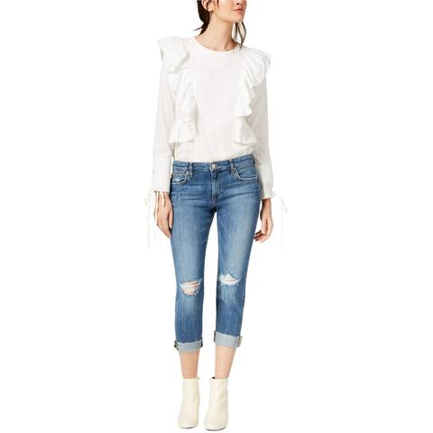 Joe's Womens The Smith Cropped Jeans, Blue, 27