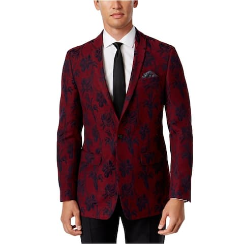 Tallia Mens Slim Fit Sport Coat - 42 Short