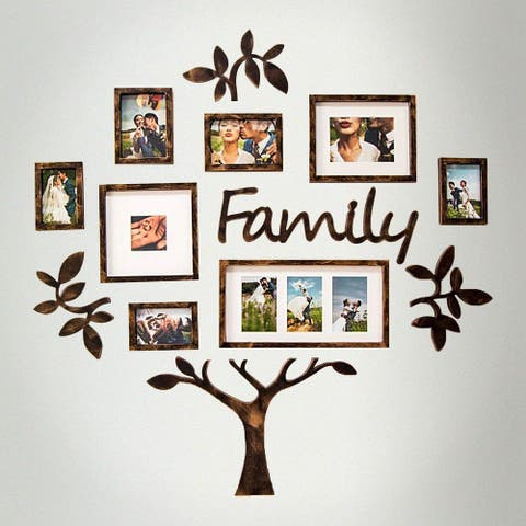 Hello Laura Family Tree College Photo Frame