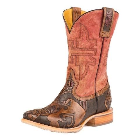 Tin Haul Western Boots Mens Cowboy Gambler