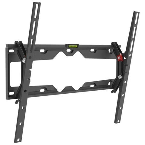 Barkan 29in- 65in Tilt Flat / Curved TV Wall Mount Up to 110 lbs Black Auto-Locking Patented Lifetime Warranty