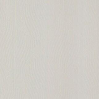 Brewster 488-31218 Zenia Silver Small Ogee Wave Wallpaper