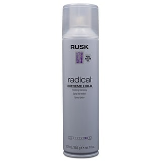 Rusk Radical Extreme Hold Finishing Hairspray with Argan Oil 10 oz