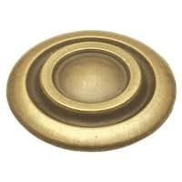 Hickory Hardware P121 Cavalier 1-3/8 Inch Diameter Mushroom Cabinet Knob
