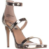 I35 Sadiee Strappy Dress Sandals, Pale Gold