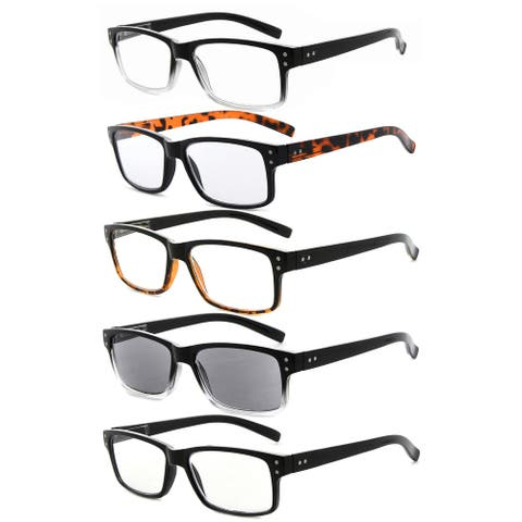 Eyekepper 5-pack Vintage Classic Design Includes Sunshine Readers