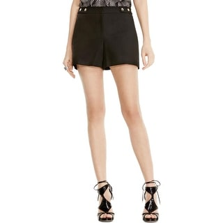 Vince Camuto Womens Dress Shorts High Waisted Cotton