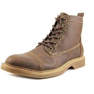 Perry Ellis West Point Men Cap Toe Synthetic Boot