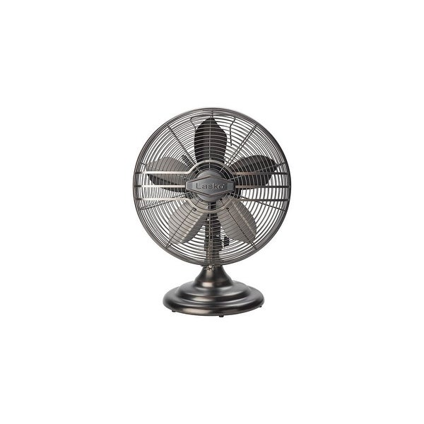 Lasko 12 Inch Classic Metal Table Fan Classic Metal Table Fan