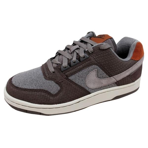 Nike Men's Delta Force A Low Dark Cinder/Soft Grey-Midnight Fog-Cognac 314167-203