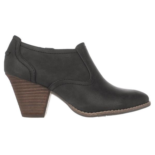 Codi Low Rise Ankle Boots, Black