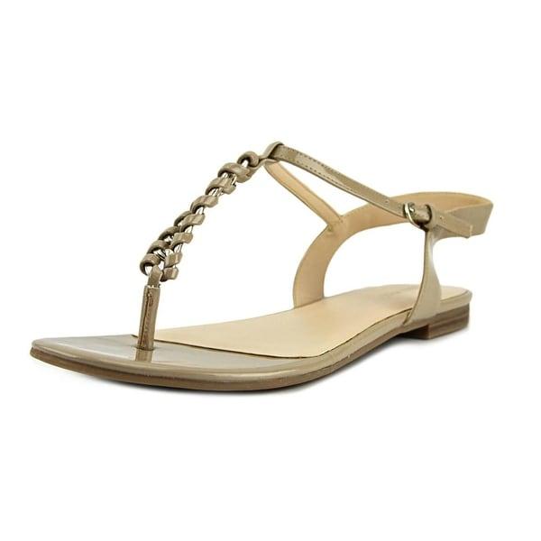 Nine West Zungaro Open Toe Synthetic Thong Sandal