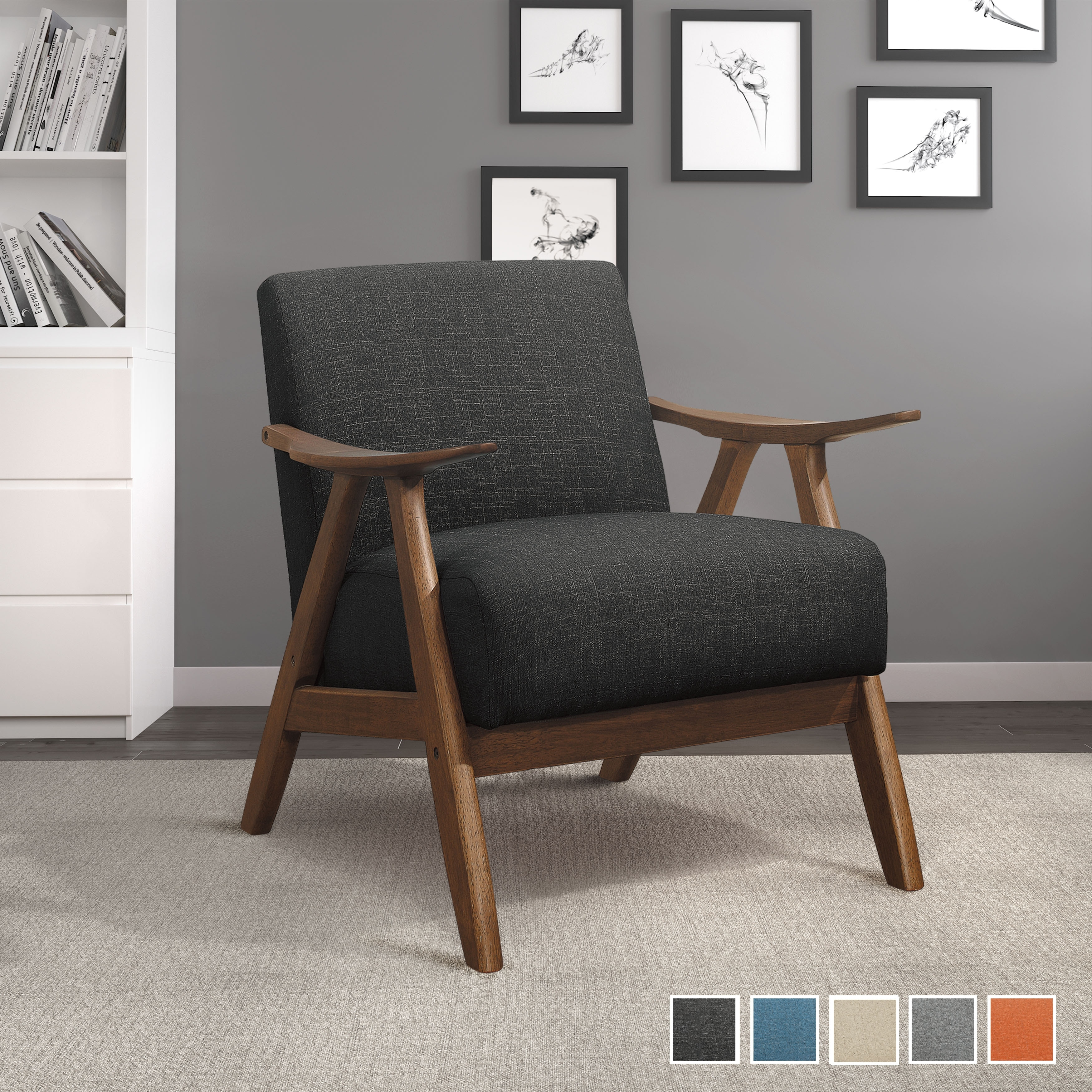 Levine Accent Chair On Sale Overstock 30912985