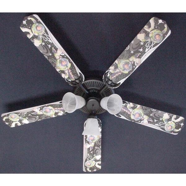 Children's Buzz Lightyear 52in Ceiling Fan Light Kit - Multi