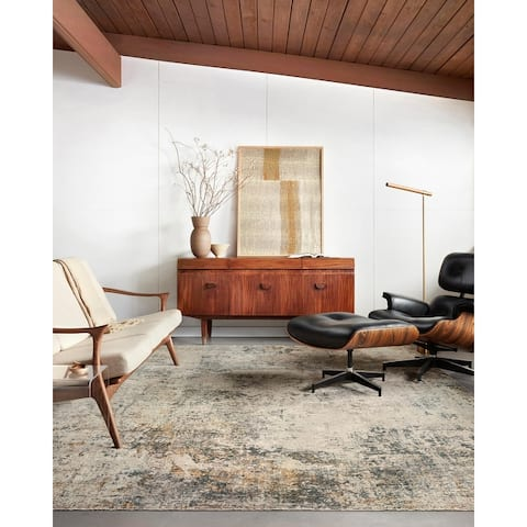 Alexander Home Alexis Modern Rustic Abstract Area Rug