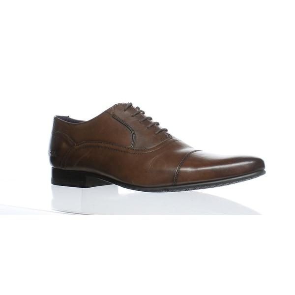 8a24c800b965f Shop Ted Baker Mens Roger 2 Brown Oxford Dress Shoe EUR 42 - Free ...