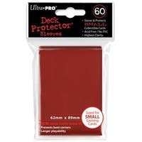 Ultra Pro Deck Protector 60ct Sleeves Red
