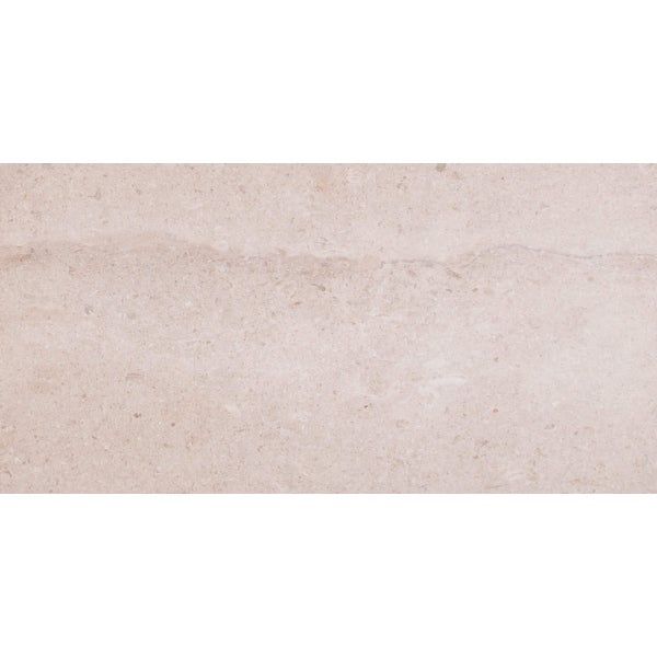 "MSI CCOASAN1224H 24"" x 12"" Rectangle Wall & Floor Tile - Smooth Limestone Visual - Sold by Piece - Honed"