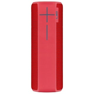 Ultimate Ears BOOM 2 Cherry Bomb Wireless Mobile Bluetooth Speaker (Waterproof and Shockproof)