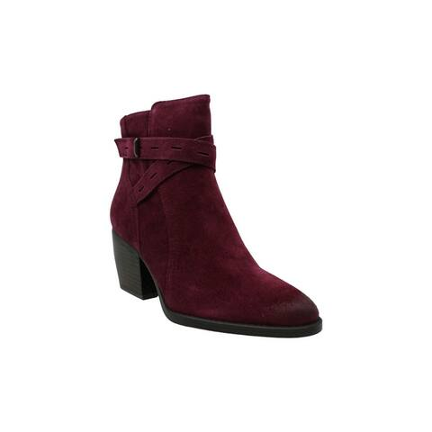 Naturalizer Womens Fenya Suede Pointed Toe Ankle Fashion Boots