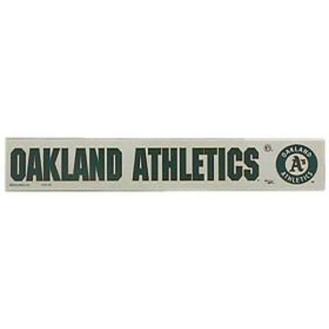 "Oakland Athletics 2""x15"" Static Cling"